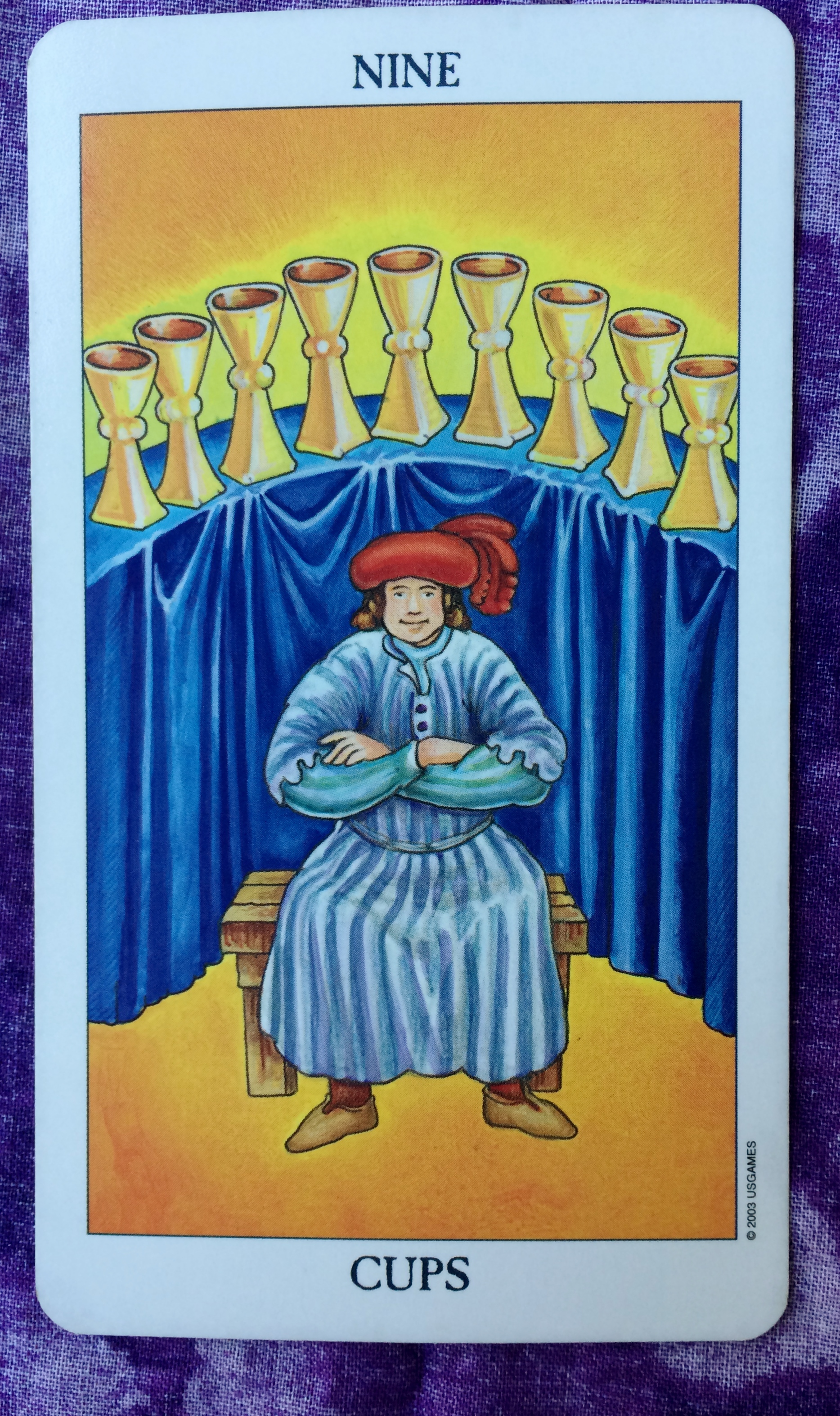 Nine Of Cups Ms Joyce Tarot Not only will you be victorious, where the chariot is all about, in whatever you've set out to achieve get ready to hold your head up high. nine of cups ms joyce tarot
