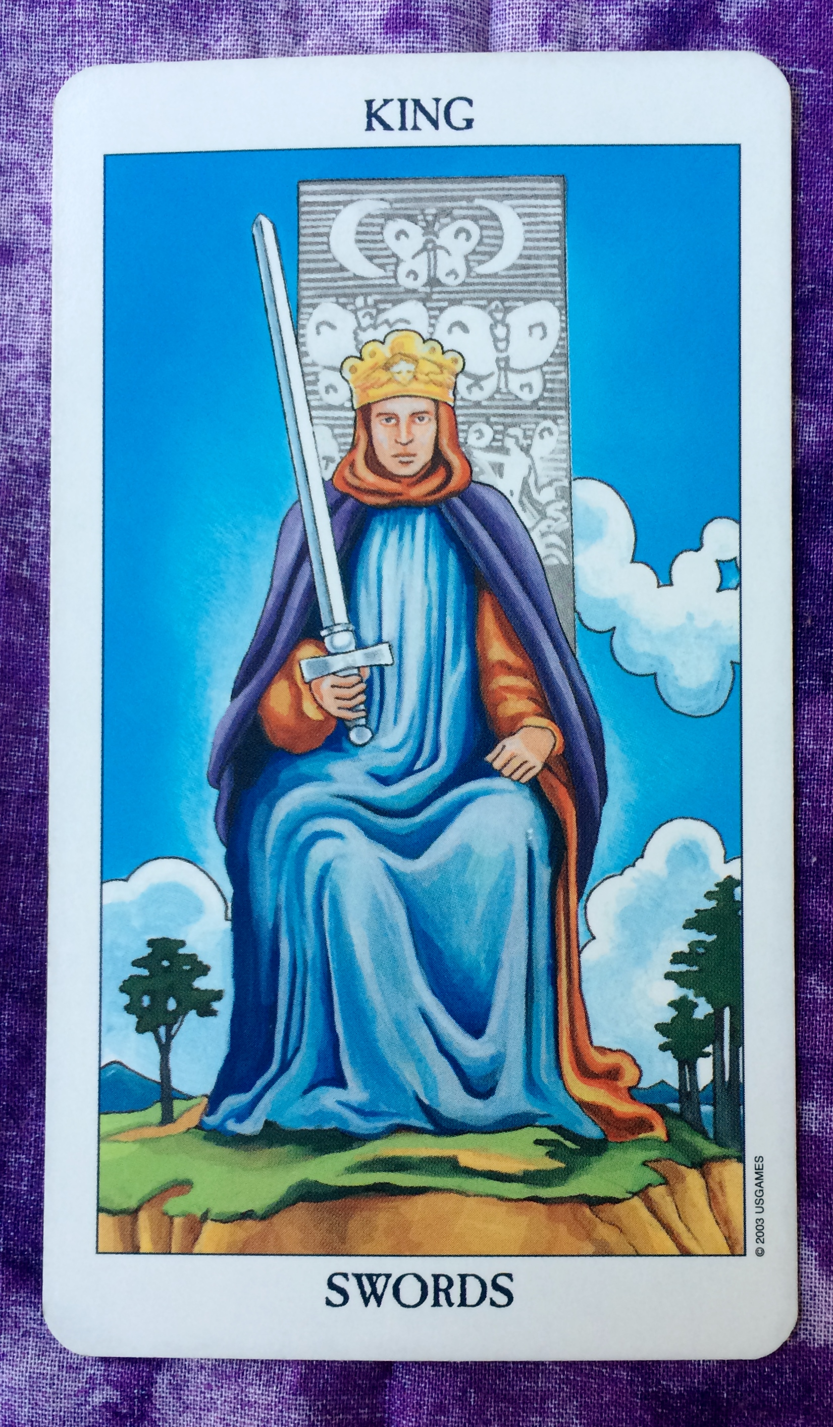 The Card For Today Is The King Of Swords You Are The Master Of Logic And Discernment Today No Hasty Actions Or Runaway Feelings You Will Be Able To