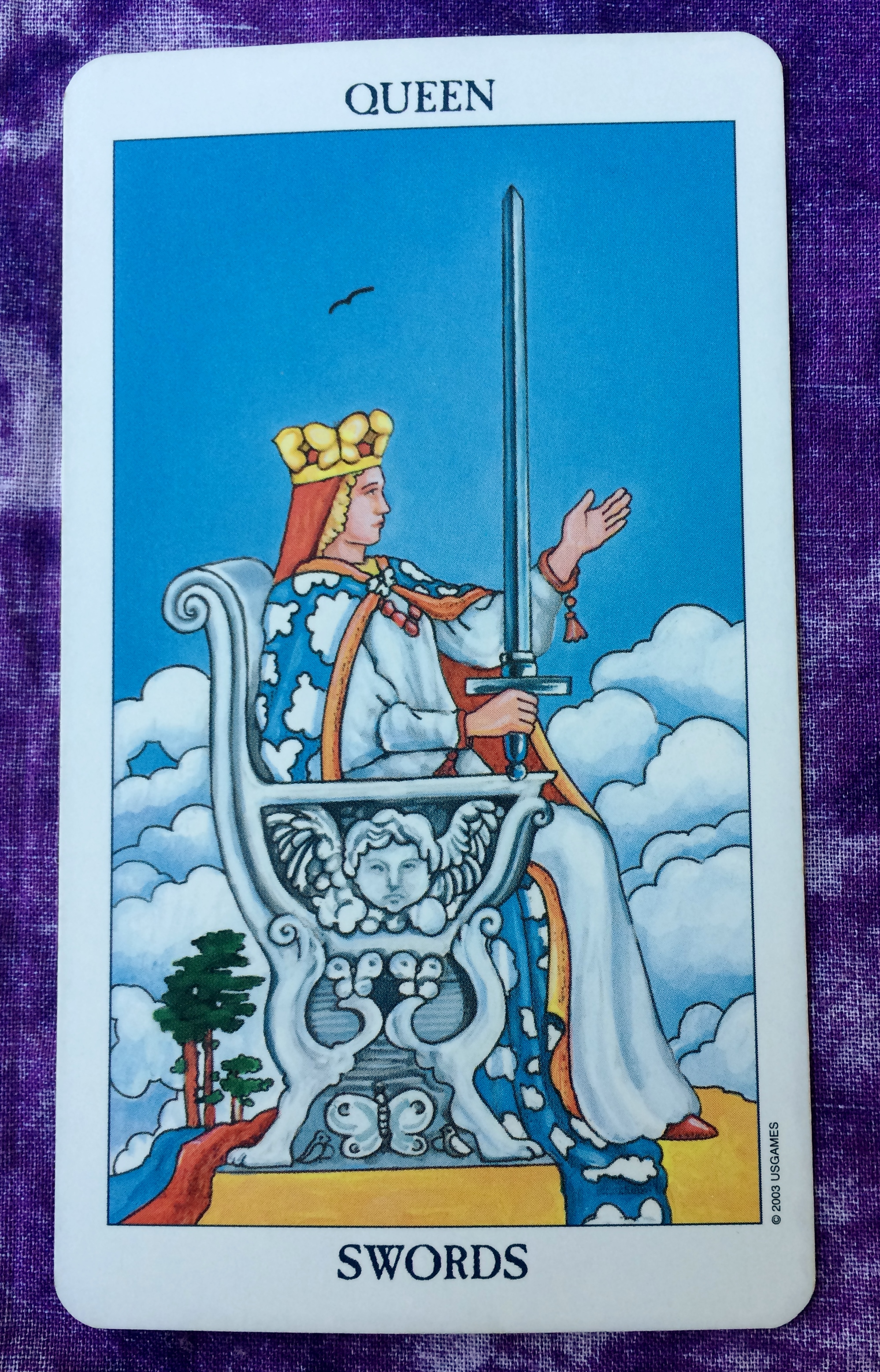 For The Second Day In A Row Todays Card Is The Queen Of Swords Like Yesterday Today Is A Good Day To Keep Emotions In Check This Doesnt Mean You Dont