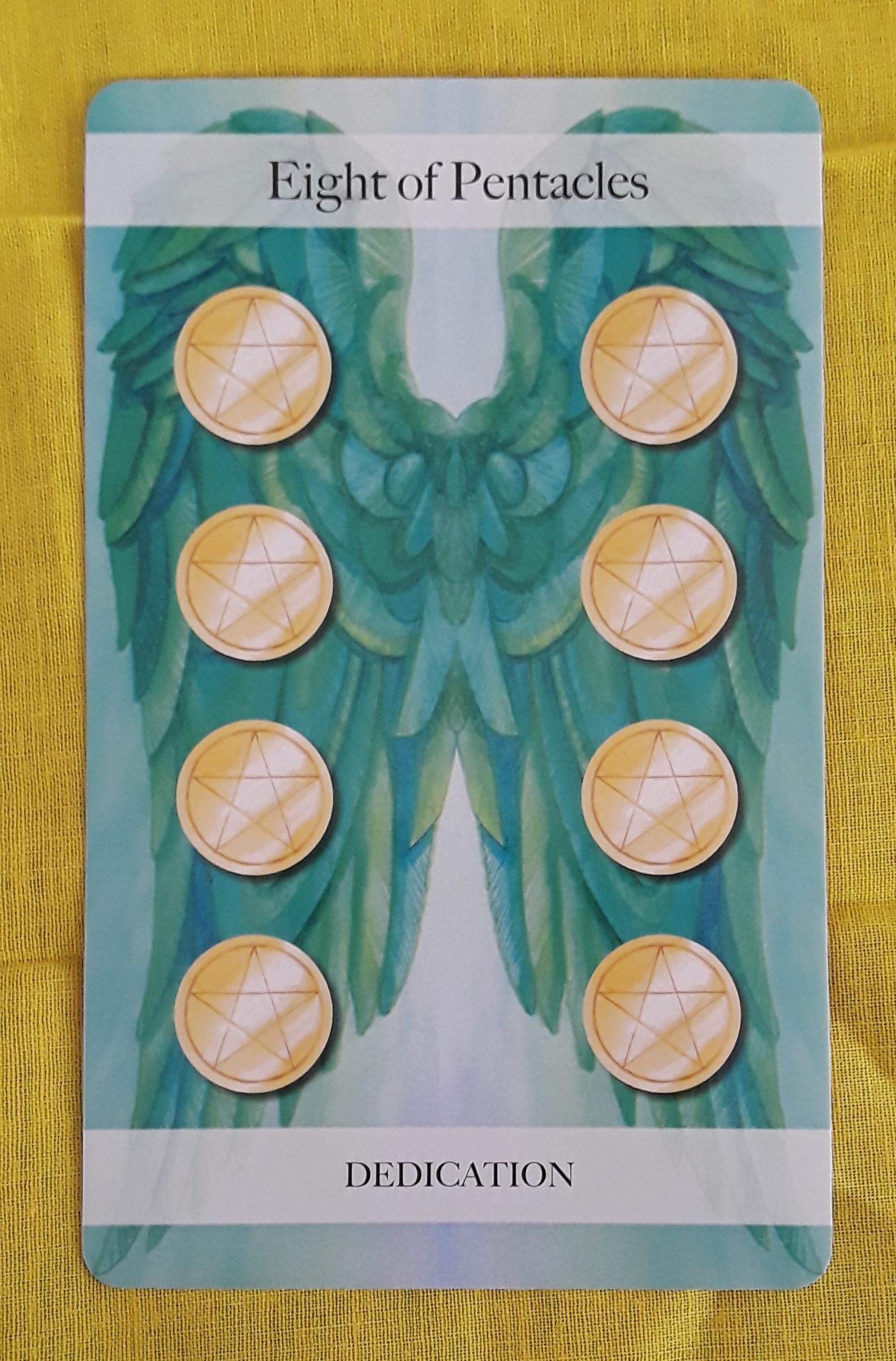 Eight of Pentacles | Ms  Joyce Tarot