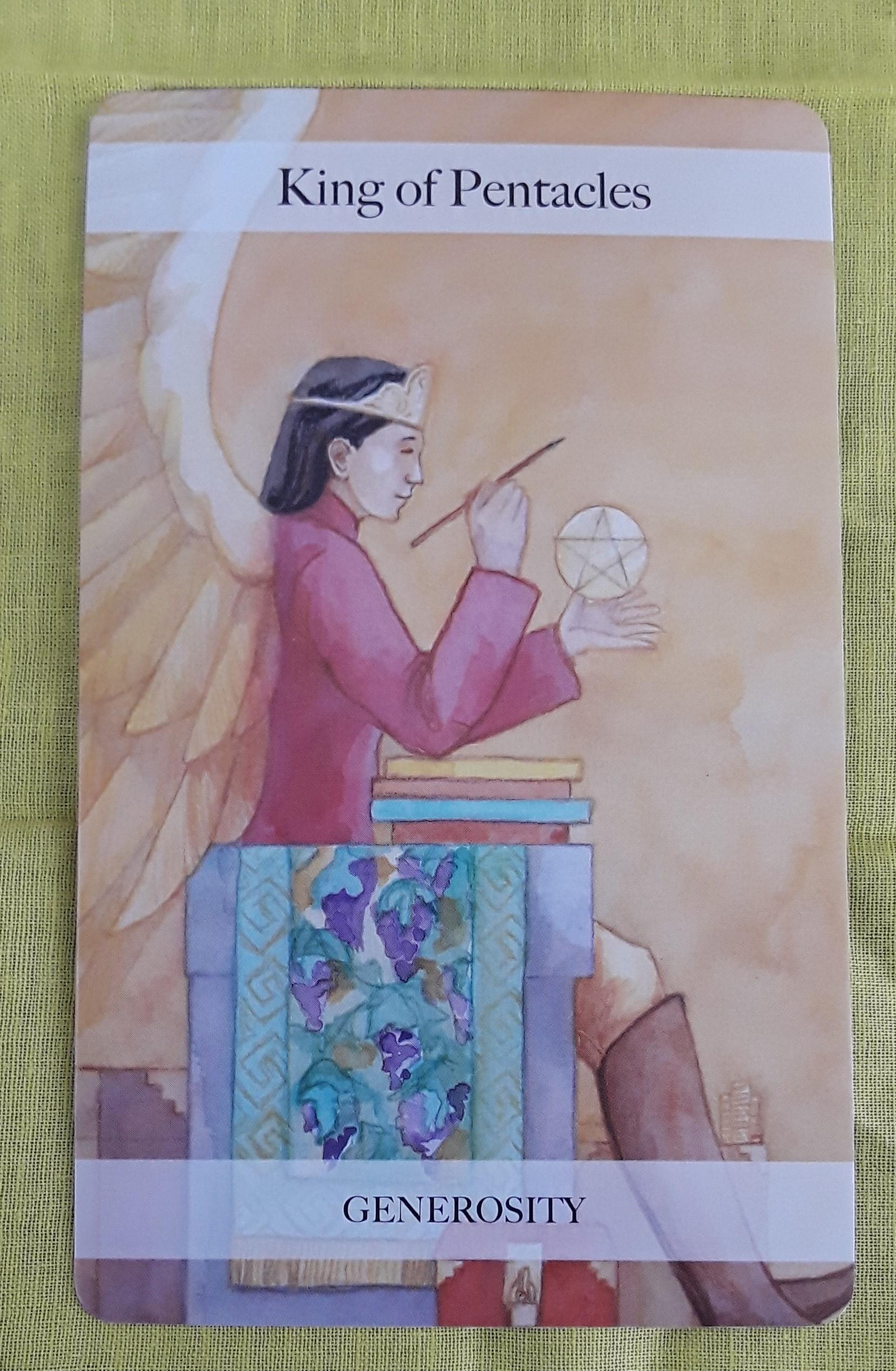 King of Pentacles | Ms  Joyce Tarot