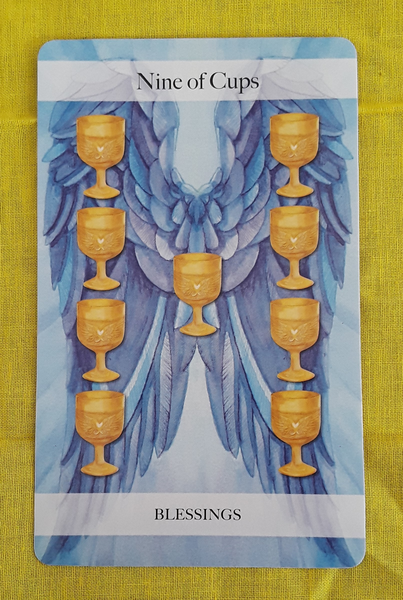 Nine Of Cups Ms Joyce Tarot At face value they might imply to you that your present time in the relationship is full of. nine of cups ms joyce tarot